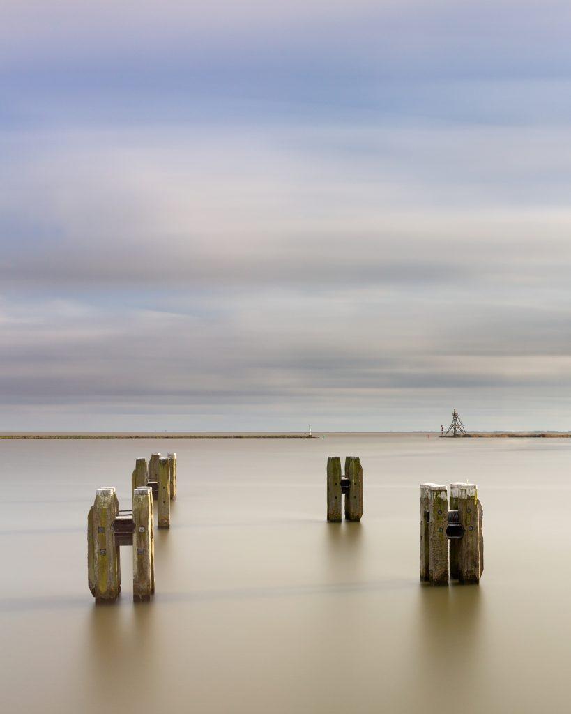 IJsselmeer gezien vanaf de Hoofdtoren in Hoorn, Noord Holland