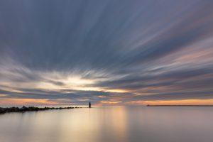 Brouwersdam, sunset_MGL3296
